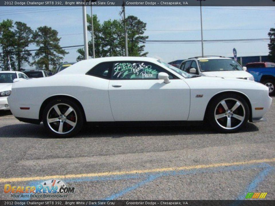 2012 Dodge Challenger SRT8 392 Bright White / Dark Slate ...