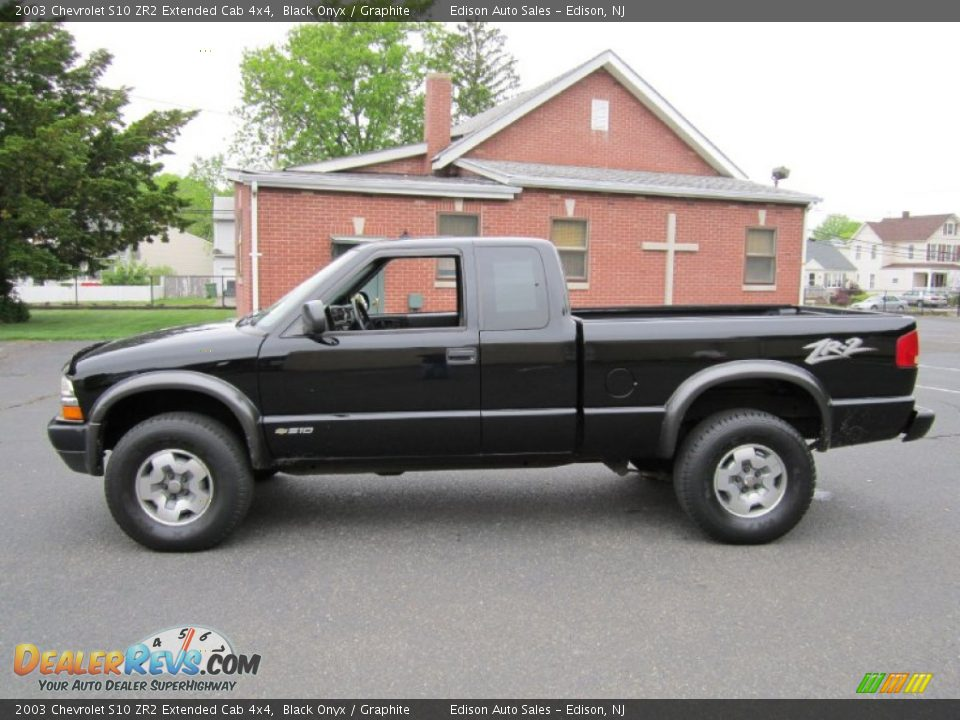 2003 chevrolet s10 zr2 extended cab 4x4 black onyx graphite photo 1. Black Bedroom Furniture Sets. Home Design Ideas