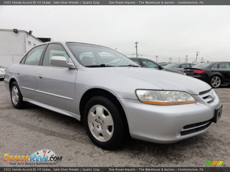 2002 honda accord ex v6 sedan satin silver metallic quartz gray photo 6. Black Bedroom Furniture Sets. Home Design Ideas