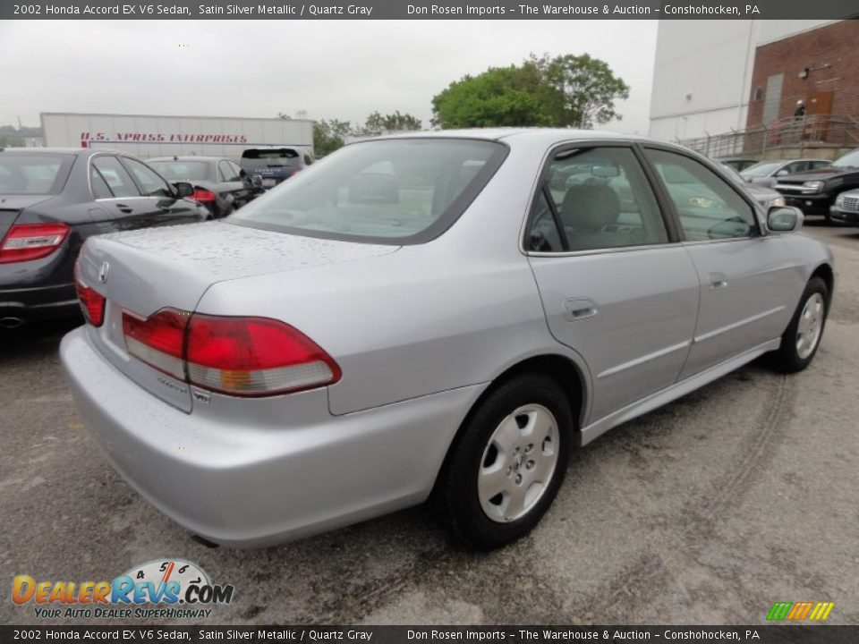 2002 honda accord ex v6 sedan satin silver metallic quartz gray photo 9. Black Bedroom Furniture Sets. Home Design Ideas