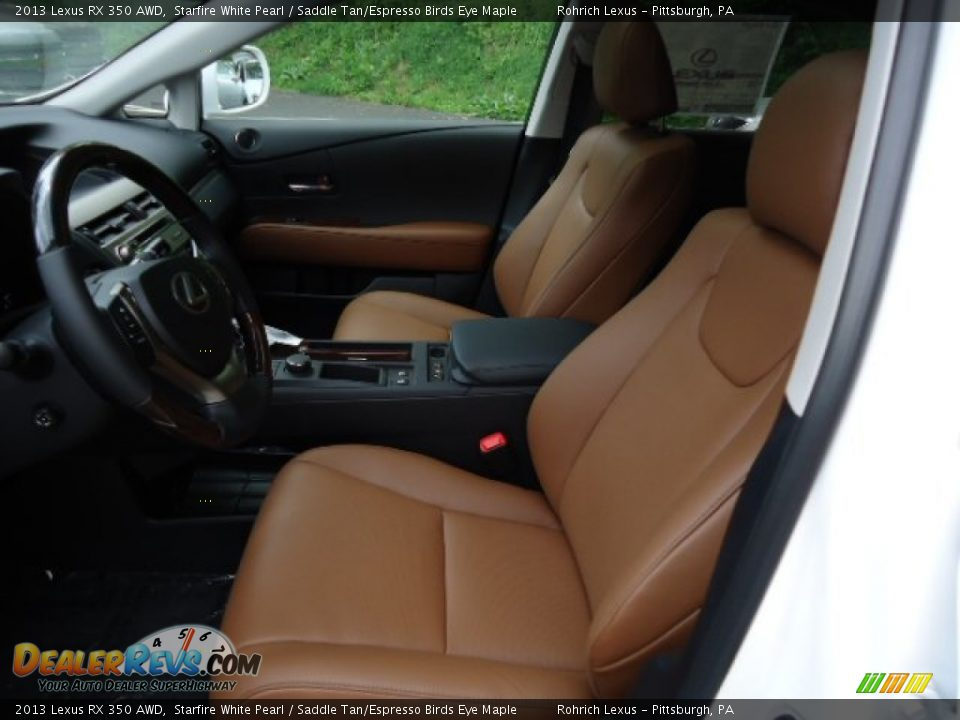 saddle tan espresso birds eye maple interior 2013 lexus rx 350 awd photo 10. Black Bedroom Furniture Sets. Home Design Ideas