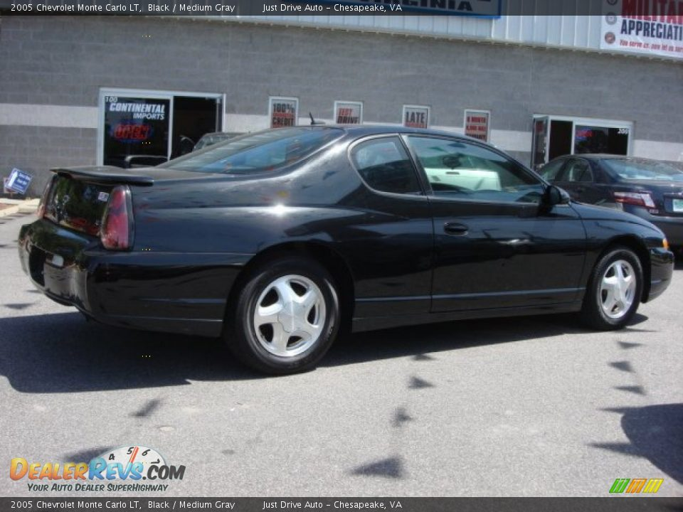 2005 chevrolet monte carlo lt black medium gray photo 5. Black Bedroom Furniture Sets. Home Design Ideas