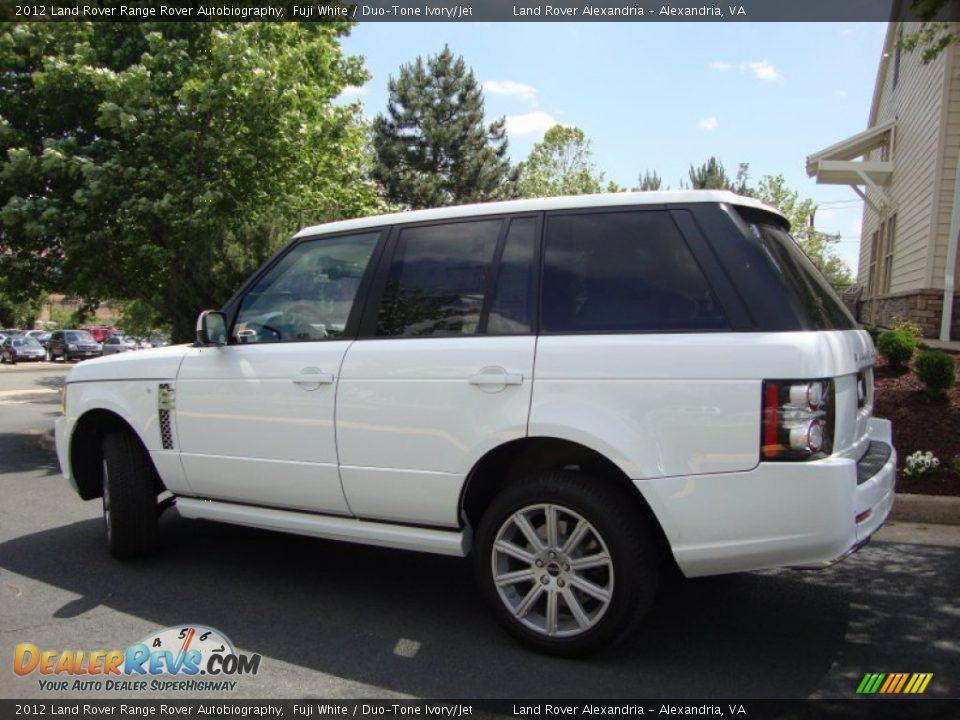 2012 Land Rover Range Rover Autobiography Fuji White Duo