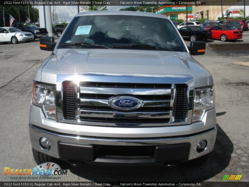 2012 ford f150 xl regular cab 4x4 ingot silver metallic steel gray photo 3. Black Bedroom Furniture Sets. Home Design Ideas