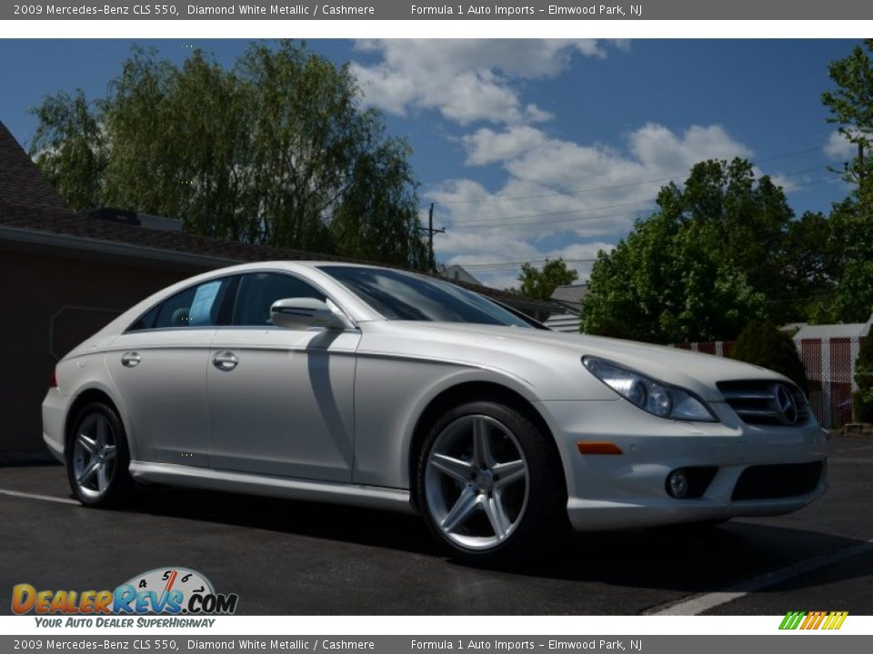 2009 mercedes benz cls 550 diamond white metallic. Black Bedroom Furniture Sets. Home Design Ideas