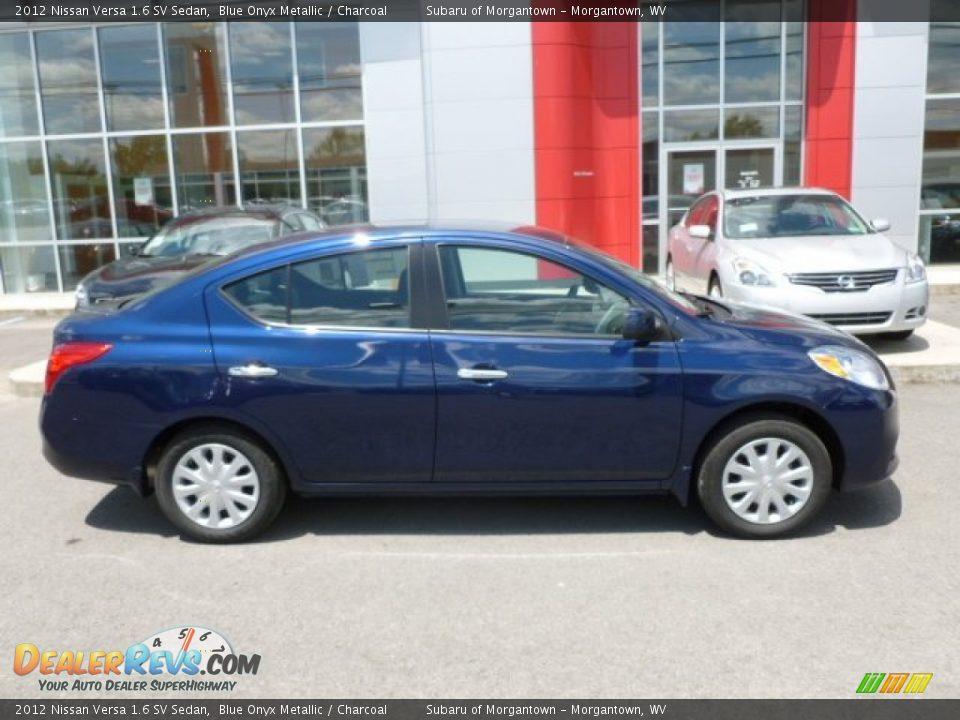 2012 Nissan Versa 1 6 Sv Sedan Blue Onyx Metallic