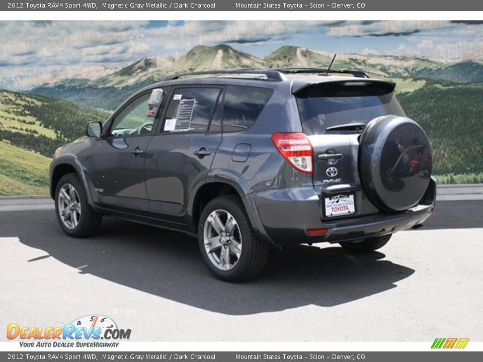 2012 toyota rav4 sport 4wd magnetic gray metallic dark charcoal