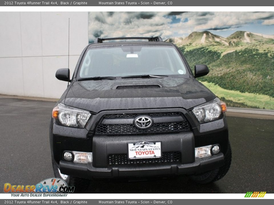 2012 Toyota 4runner Trail 4x4 Black Graphite Photo 2