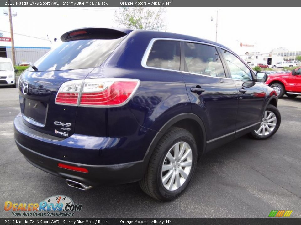2010 Mazda Cx 9 Sport Awd Stormy Blue Mica Black Photo