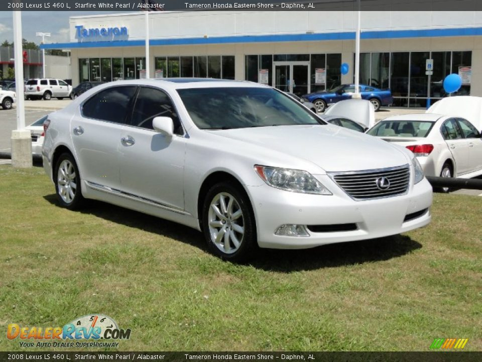 2008 lexus ls 460 l starfire white pearl alabaster photo. Black Bedroom Furniture Sets. Home Design Ideas