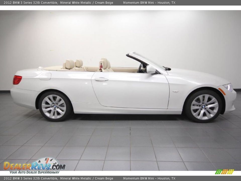 2012 Bmw 3 Series 328i Convertible Mineral White Metallic