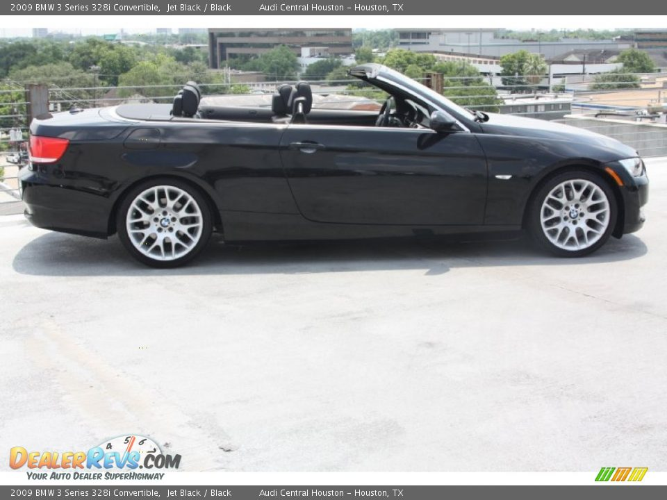 2009 Bmw 3 Series 328i Convertible Jet Black Black Photo