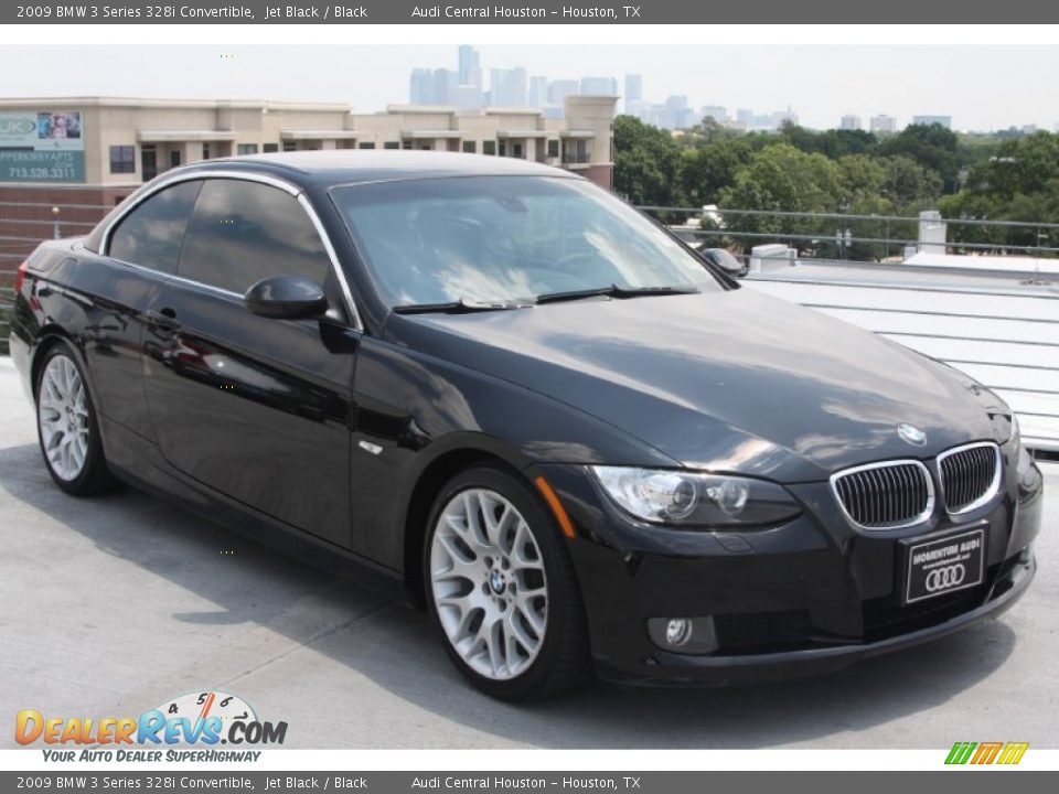 2009 bmw 3 series 328i convertible jet black black photo 9. Black Bedroom Furniture Sets. Home Design Ideas