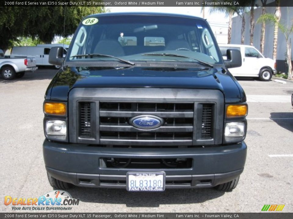 2008 Ford E Series Van E350 Super Duty Xlt 15 Passenger