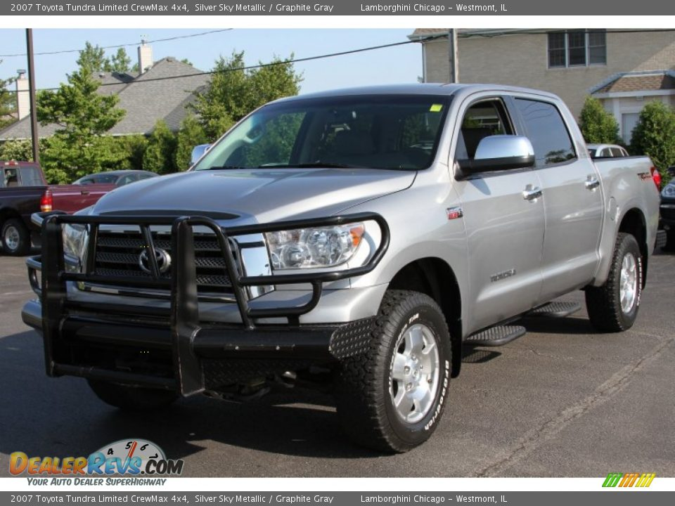 2007 toyota tundra limited crewmax 4x4 silver sky metallic graphite gray photo 1. Black Bedroom Furniture Sets. Home Design Ideas
