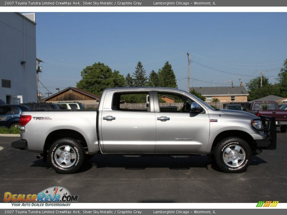 2007 toyota tundra limited crewmax 4x4 silver sky metallic graphite gray photo 5. Black Bedroom Furniture Sets. Home Design Ideas