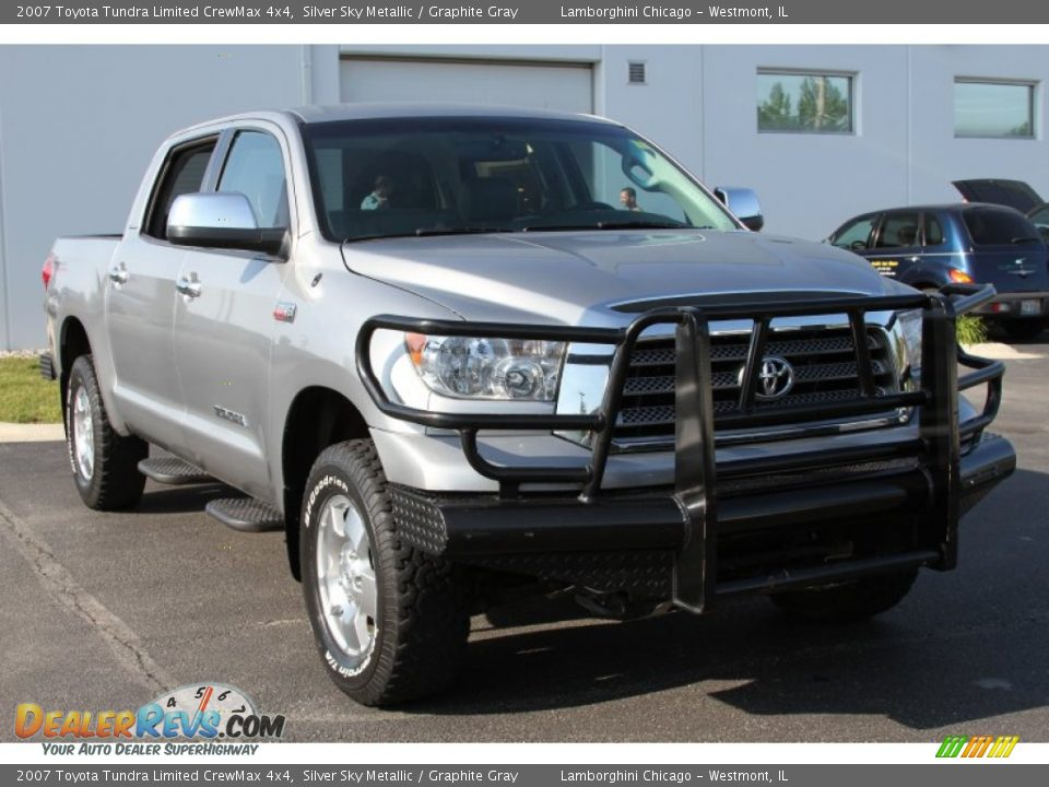 2007 toyota tundra limited crewmax 4x4 silver sky metallic graphite gray photo 6. Black Bedroom Furniture Sets. Home Design Ideas