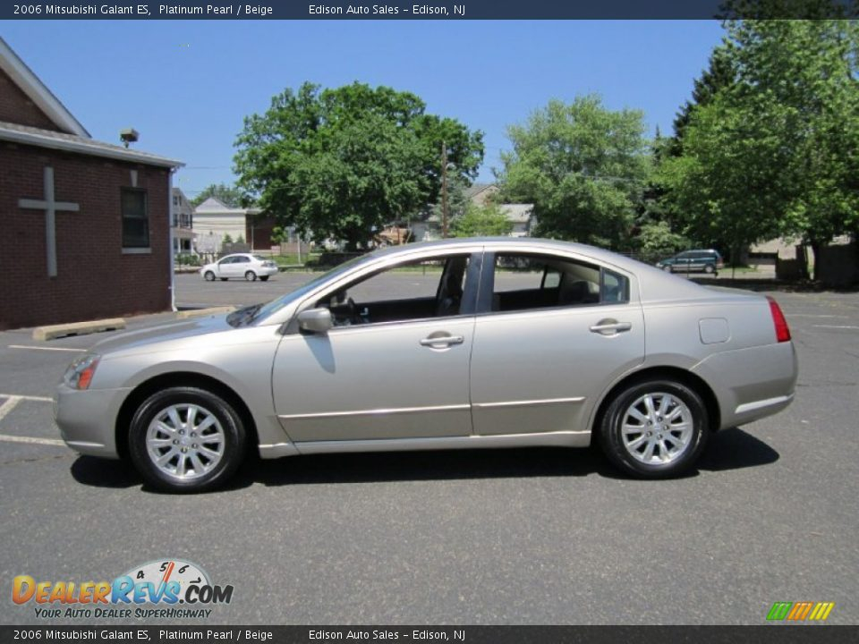 2006 mitsubishi galant es platinum pearl beige photo 1. Black Bedroom Furniture Sets. Home Design Ideas