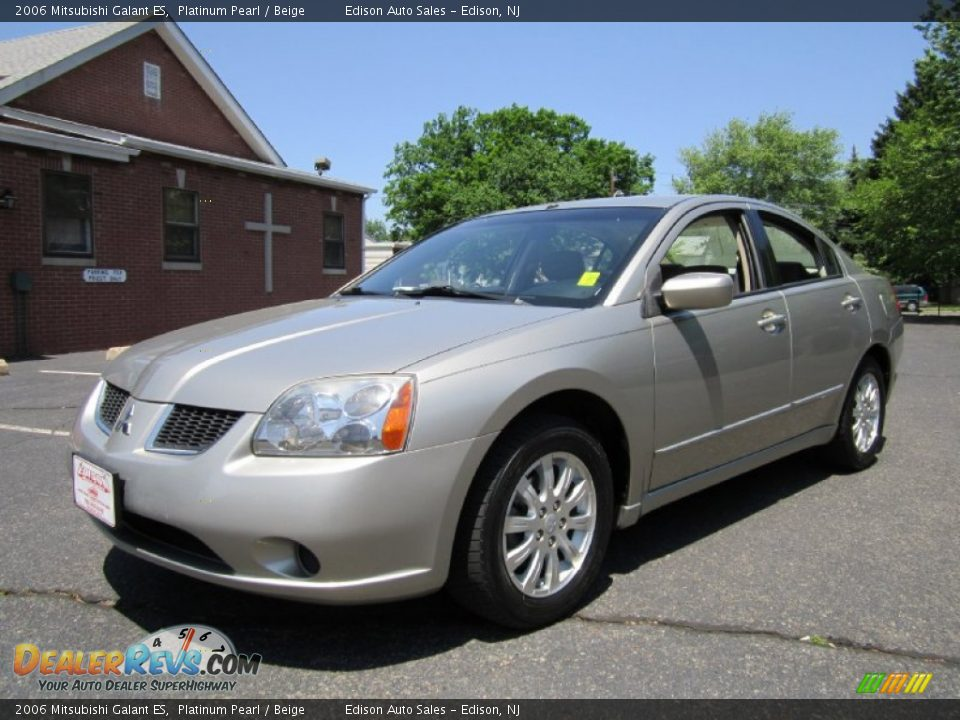 2006 mitsubishi galant es platinum pearl beige photo 2. Black Bedroom Furniture Sets. Home Design Ideas
