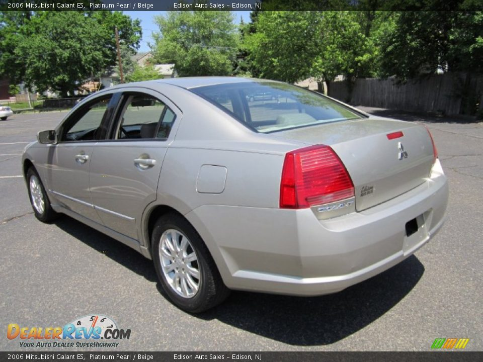 2006 mitsubishi galant es platinum pearl beige photo 5. Black Bedroom Furniture Sets. Home Design Ideas
