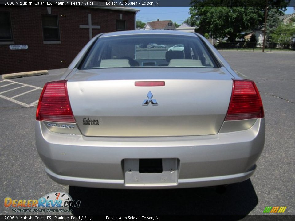 2006 mitsubishi galant es platinum pearl beige photo 6. Black Bedroom Furniture Sets. Home Design Ideas