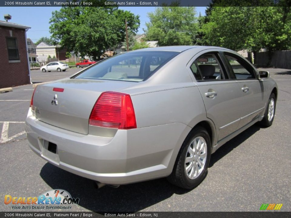 2006 mitsubishi galant es platinum pearl beige photo 7. Black Bedroom Furniture Sets. Home Design Ideas