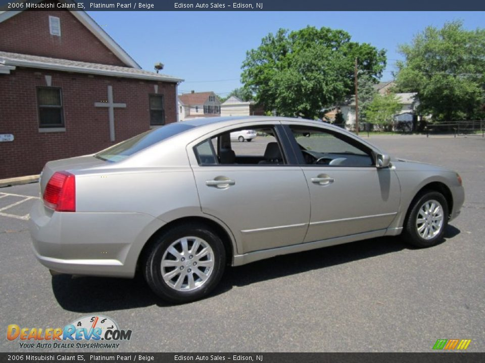 2006 mitsubishi galant es platinum pearl beige photo 8. Black Bedroom Furniture Sets. Home Design Ideas