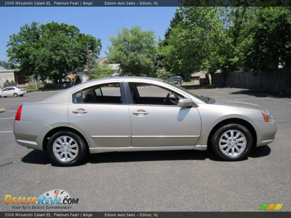 2006 mitsubishi galant es platinum pearl beige photo 9. Black Bedroom Furniture Sets. Home Design Ideas