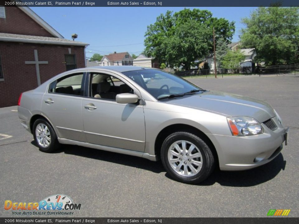 2006 mitsubishi galant es platinum pearl beige photo 10. Black Bedroom Furniture Sets. Home Design Ideas