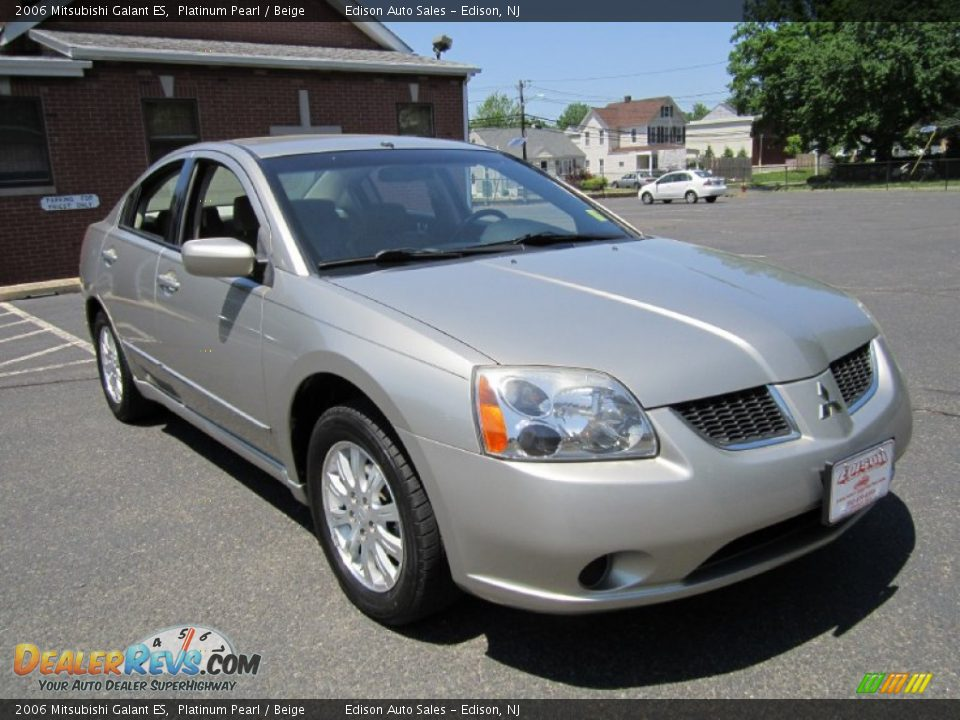 2006 mitsubishi galant es platinum pearl beige photo 11. Black Bedroom Furniture Sets. Home Design Ideas