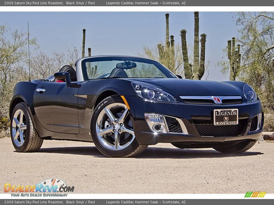2009 Saturn Sky Red Line Roadster Black Onyx Red Photo