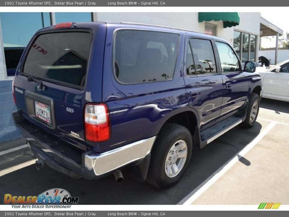 2001 Toyota 4runner Sr5 Stellar Blue Pearl Gray Photo 3
