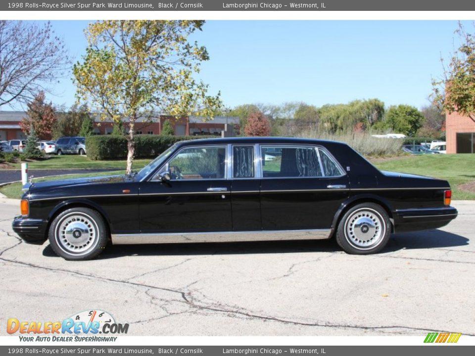 1998 Rolls Royce Silver Spur Park Ward Limousine Black