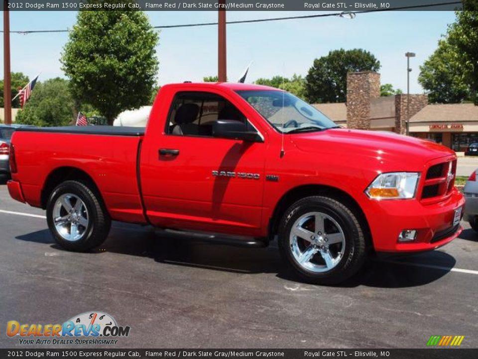 2012 Dodge Ram 1500 Express Regular Cab Flame Red Dark