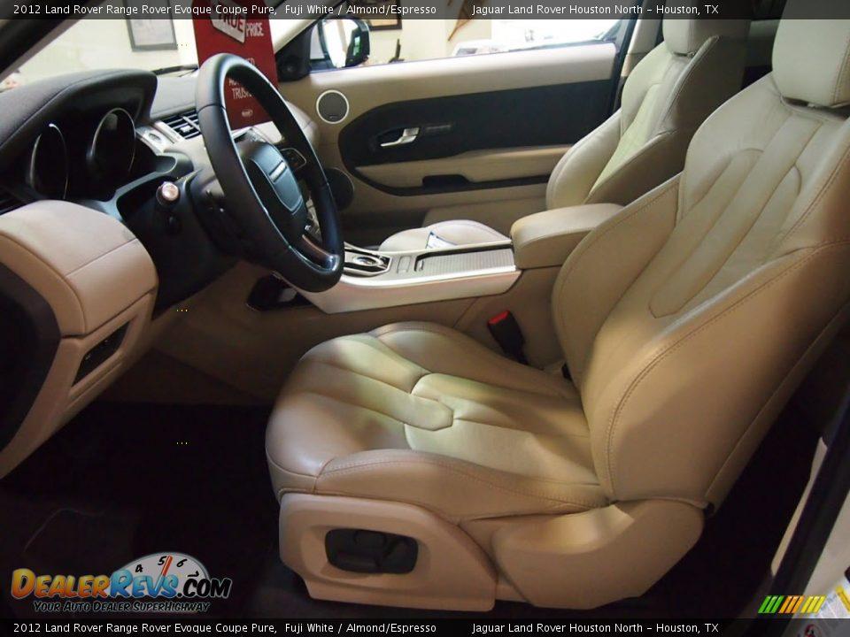 Almond/Espresso Interior - 2012 Land Rover Range Rover ...