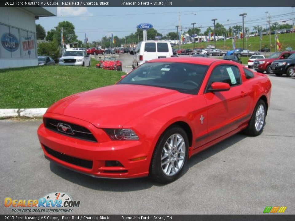 2013 ford mustang v6 coupe race red charcoal black photo 2. Black Bedroom Furniture Sets. Home Design Ideas
