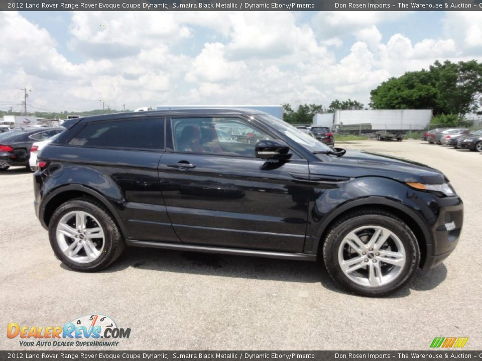 Sumatra Black Metallic 2012 Land Rover Range Rover Evoque