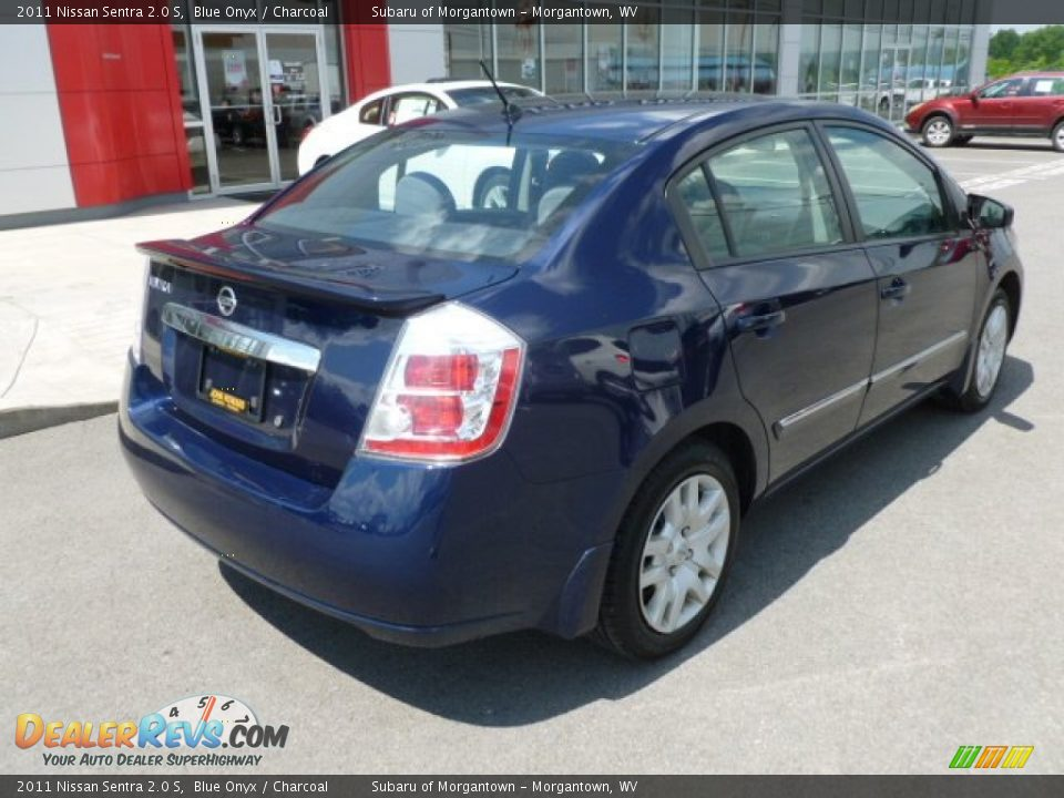 2011 nissan sentra 2 0 s blue onyx charcoal photo 11. Black Bedroom Furniture Sets. Home Design Ideas