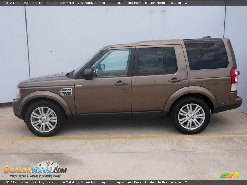 2012 Land Rover Lr4 Hse Nara Bronze Metallic Almond