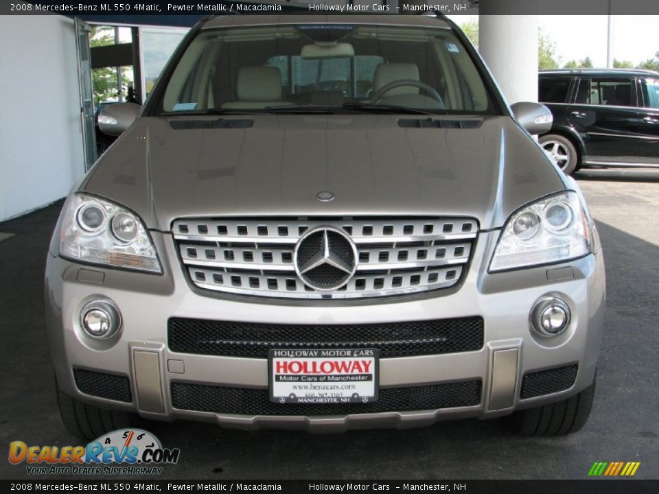 2008 mercedes benz ml 550 4matic pewter metallic for 2008 mercedes benz ml550 4matic