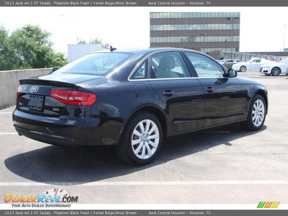 2013 Audi A4 2 0t Sedan Phantom Black Pearl Velvet Beige
