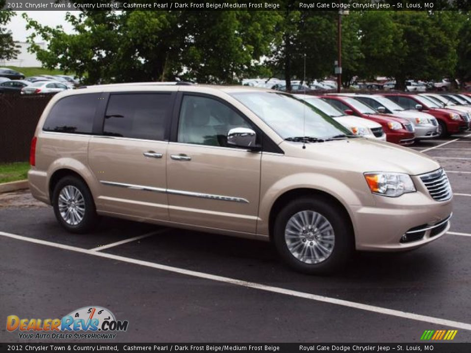 2012 chrysler town country limited cashmere pearl dark frost beige medium frost beige photo. Black Bedroom Furniture Sets. Home Design Ideas