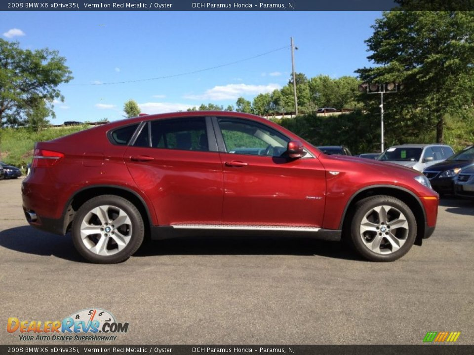 2008 Bmw X6 Xdrive35i Vermilion Red Metallic Oyster