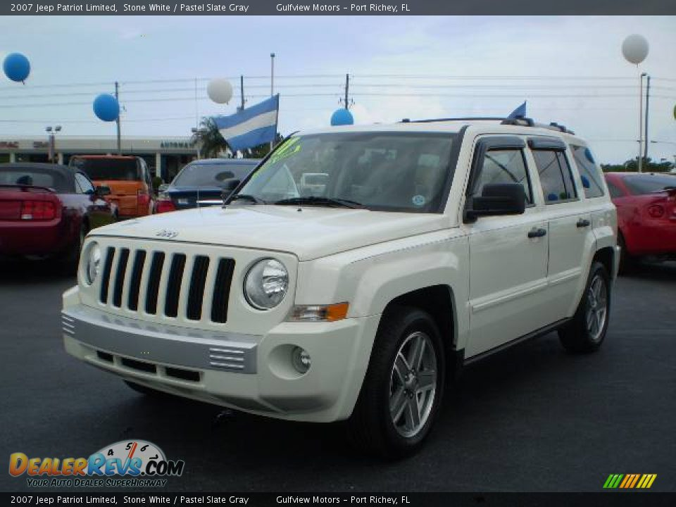 White Jeep Patriot >> 2007 Jeep Patriot Limited Stone White / Pastel Slate Gray Photo #3 | DealerRevs.com