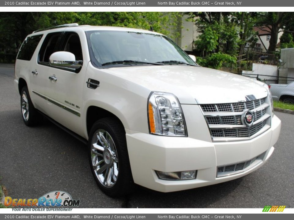 2010 cadillac escalade esv platinum awd white diamond. Black Bedroom Furniture Sets. Home Design Ideas