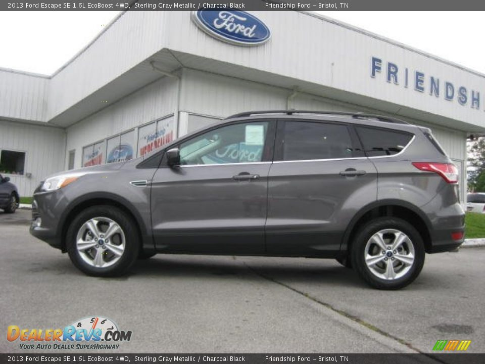 2013 ford escape se 1 6l ecoboost 4wd sterling gray metallic charcoal black photo 1. Black Bedroom Furniture Sets. Home Design Ideas