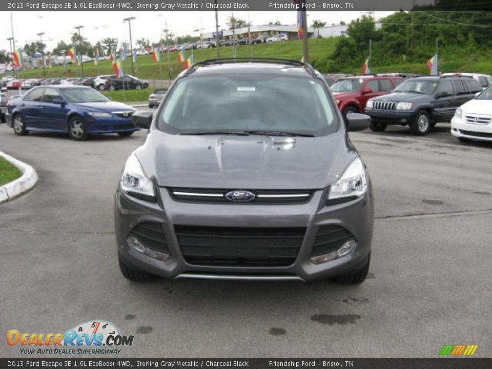 2013 ford escape se 1 6l ecoboost 4wd sterling gray metallic charcoal black photo 3. Black Bedroom Furniture Sets. Home Design Ideas