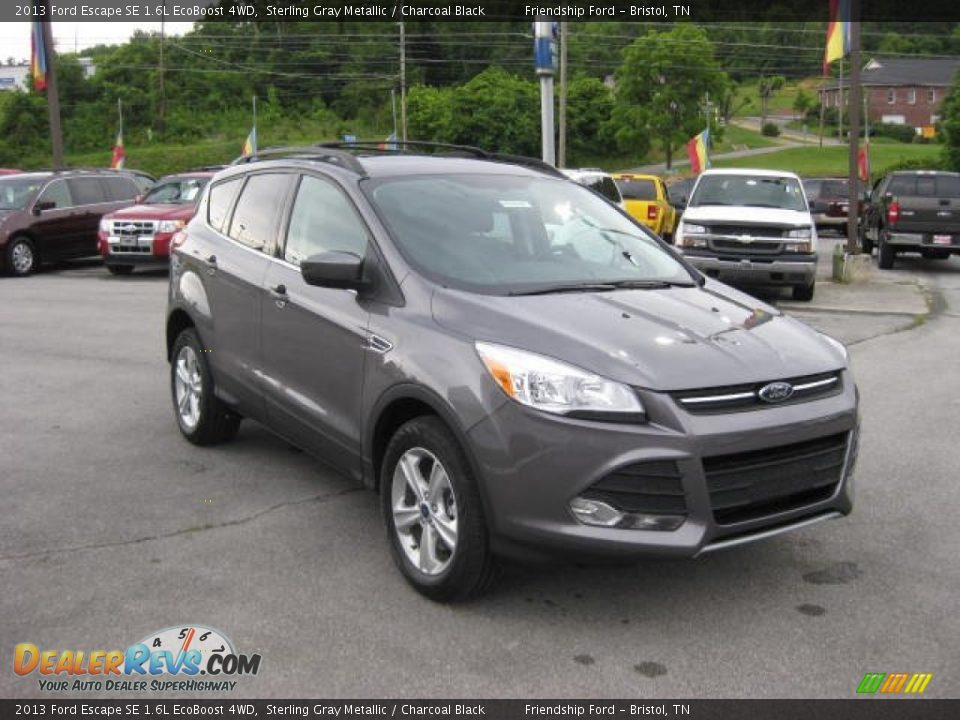 2013 ford escape se 1 6l ecoboost 4wd sterling gray metallic charcoal black photo 4. Black Bedroom Furniture Sets. Home Design Ideas