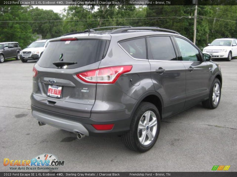 2013 ford escape se 1 6l ecoboost 4wd sterling gray metallic charcoal black photo 6. Black Bedroom Furniture Sets. Home Design Ideas