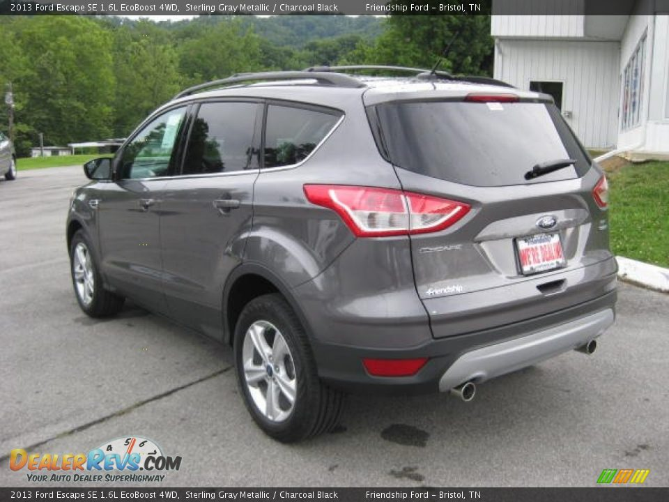 2013 ford escape se 1 6l ecoboost 4wd sterling gray metallic charcoal black photo 8. Black Bedroom Furniture Sets. Home Design Ideas